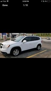 2012 Chevy Orlando LT2 Fully loaded except leather NO GST
