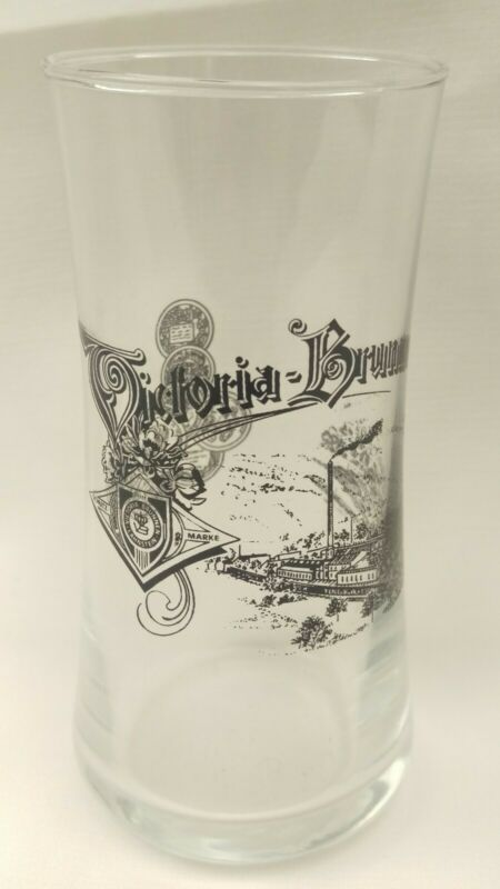 Victoria Brunnen Mineral Water Drinking Glass Tumbler Lahnstein German c1800