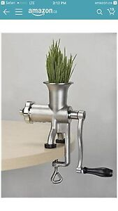 Miracle Wheat Grass Juicer