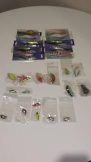 fishing lures 26 all up
