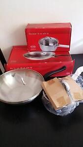 Arzberg 28 cm stir fry pan w/ lid & 16 cm saucepan w/ lid package West Ryde Ryde Area Preview