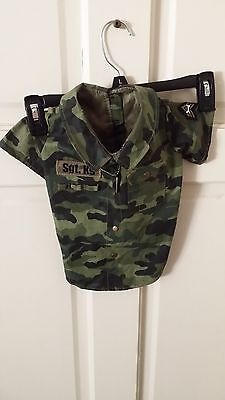 SGT.K9 - Puppy Dog Camouflage Shirt - by Hunnington - Has Silver Dog Tag - EUC  for sale  Canyon Country