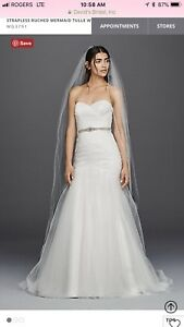 David's Bridal Wedding Gown - New