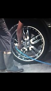 Mags with tires for BMW ..X5 or X6