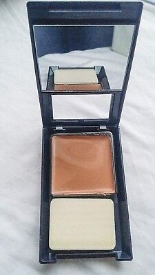 NYC CREME TO POWDER FOUNDATION COMPACT + SPONGE - TEDER BEIGE - RARE ITEM!