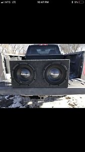 """2 12"""" pioneer subs in a box, mint condition!"""