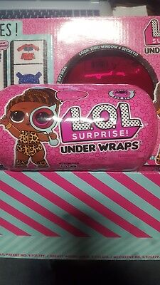 LOL Surprise Under Wraps Doll - Series 4 Wave 2 - 100% Authentic NEW FREE S&H