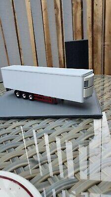 Corgi model trucks 1:50 scale CODE 3 WHITE FRIDGE TRAILER