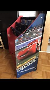 Kids storage unit lightning mcqueen