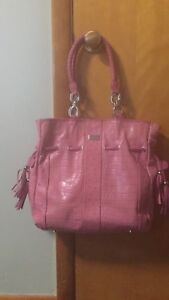 Isabella Adams Leather Shoulder Bag Purse Large