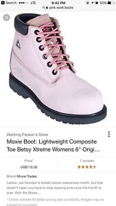 Women's work boots size 11