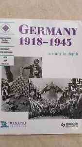 Germany 1918 A Study in Depth  Year 11 text book Greenwood Joondalup Area Preview