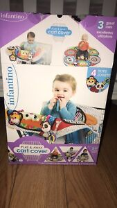 Shopping cart cover /playmat