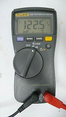 Fluke 113 True-rms Multimeter Nice Used Condition