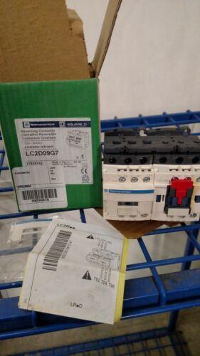 Telemecanique Square D  LC2D09G7V reversing contactor