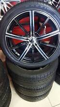 "18"" OSAKA WHEEL AND TYRE PACKAGE USED Fawkner Moreland Area Preview"