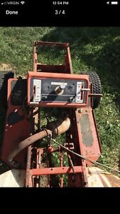 Gravely garden tractor for parts