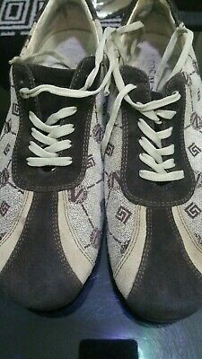Versace men trainers Size 8