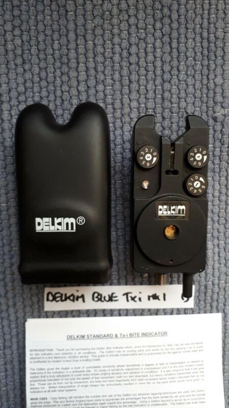 DELKIM Txi BLUE EXC COND + HARD  CASE + NEW