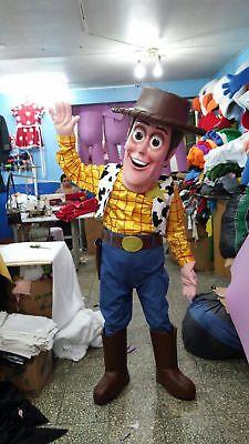 Woody Cowboy Toy Story Mascot Costume Party Character Birthday Halloween Cosplay (Halloween Mascot Costume)