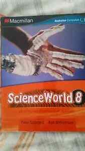ScienceWorld 8 Australian Curriculum edition Maroubra Eastern Suburbs Preview