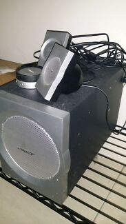 Bose Speakers with submitter and volume/power dial Milton Brisbane North West Preview