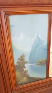Antique Over Mantel Mirror