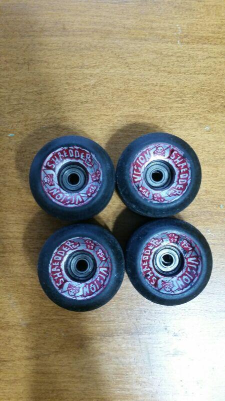 Skateboard Wheels Vintage 80s Vision Shredder 63×43  95A