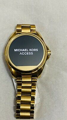 Michael Kors Access Unisex Gold Bradshaw Steel Smart Watch MKT5001