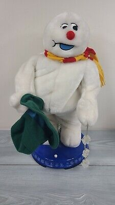 Gemmy Frosty The Snowman Singing Animated Figure Statue READ DESCRIPTION