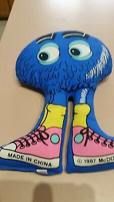 Vintage McDonald's Collector Blue Fry character 1987