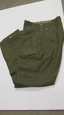 Canadian Army M1950 Battledress Wool Trousers Pants 1951 Dated Size 8 Post WW2