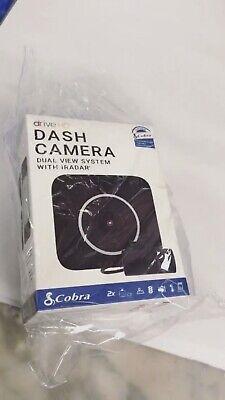 New Cobra Electronics Drive HD Dual View Dash Camera - 1080p Front, 720p Rear