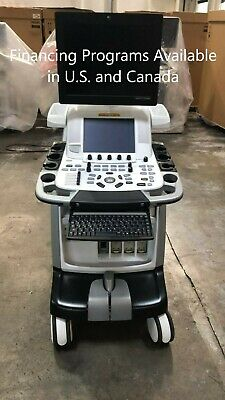 Ge Vivid E9 Bt13 3d4 Xdclear Ultrasound Refurbished With M5s-d All Option Open