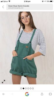 Wanted: Green denim overalls