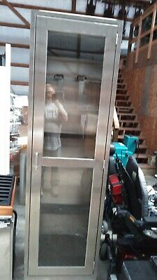 Stanley Innerspace Stainless Steel Medical Endoscope Cabinet 84tx24w X 22d