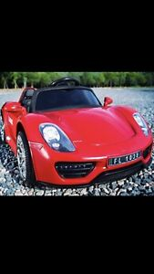 RIDE ON PORCHE FOR KIDS COME WITH REMOTE CONTROL 299!!!