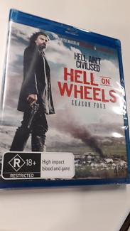 Hell on Wheels NEW Blu-Ray Season 4