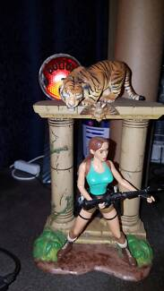 Tomb Raider Lara Croft Encounters the Savage Bengal Tiger