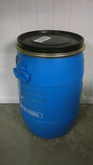 60lt food grade plastic drums