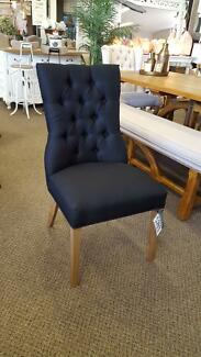 Hamptons tufted dining chairs in 3 colours PerFurEmp