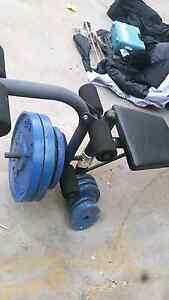 Gym set. Bench press. Gym weights Auburn Auburn Area Preview