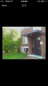 2 bdrm plus den,  apartment with balcony for September 1st