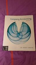 Company Accounting 9th Edition Brisbane City Brisbane North West Preview