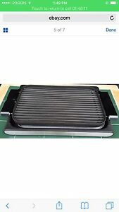 Wolfgang puck reversible grill/ griddle London Ontario image 1