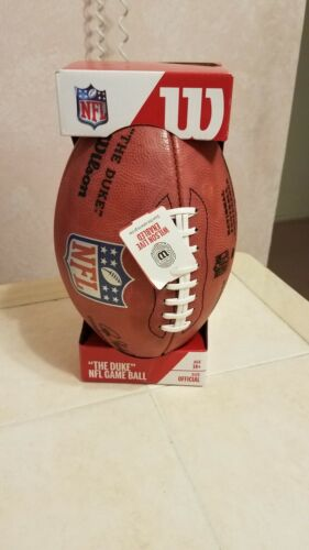 Wilson Official NFL Authentic Game Duke Football