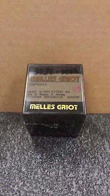 Melles Griot 03bsc013 40mm X 40mm X 40mm Cube Beam Splitter