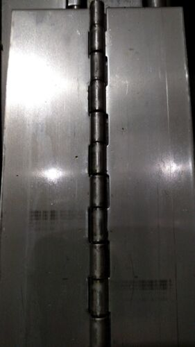 Steel Piano Hinges Heavy Duty in Multiple Sizes, Lengths, and Variations