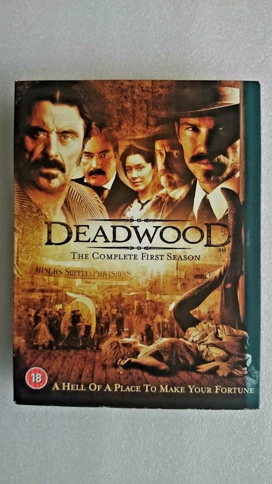 Deadwood - Series 1 - Complete (DVD, 2005, 4-Disc Set)