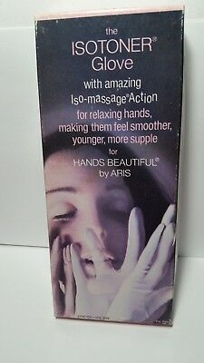 Vintage Isotoner Gloves by Aris Navy New With Tags Minor Box Damage Size 6-8